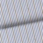 Blue & Gray Pinstripe
