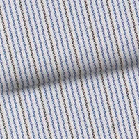 Blue & Gray Pinstripe