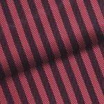 Red Herringbone Stripe