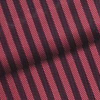 Red Herringbone Stripe