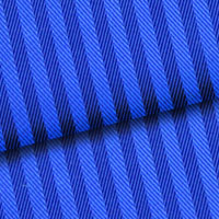 Blue Herringbone Stripe