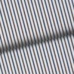Blue & Brown Pinstripe