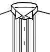 Tux Pleats + Stud Holes